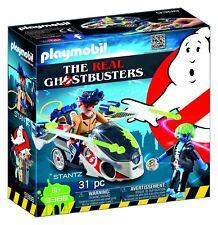 Playset STANTZ con MOTO VOLANT de la VÉRITABLE GHOSTBUSTERS Playmobil 9388 Neuf