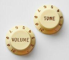 Cream Genuine Guitar Knob Cufflinks