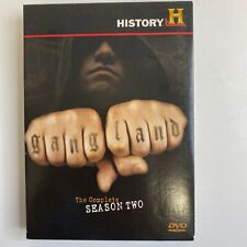 Gangland - Complete Season 2 (DVD, 2008, 3-Disc Set)