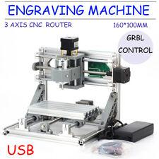 3 AXIS DIY Desktop Engrave Mini CNC PCB Milling Router USB FräSe Graviermaschine