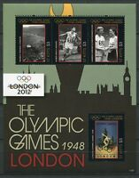 St. Kitts 2012 Olympiade London 1948 Olympics Kleinbogen Postfrisch MNH