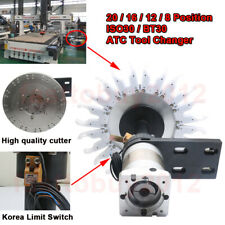 CNC MILL Automatic ATC TOOL Changer 20/16/12/8 Position ISO30/ BT30 CNC Milling