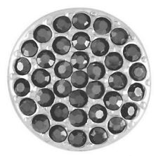 BUY 4, GET 5TH $6.95 SNAP FREE GINGER SNAPS™ RITZY-HEMATITE SILVER SN07-87