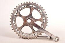 Vintage Legnano Bicycle Crankset Cottered 145 mm Double 35/42T Rare