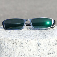 Men's Semi Rimless Photochromic Reading Glasses Single Vision UV400 +0.00 ~+4.00