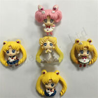 5pcs/set Sailor Moon Q Version of Tsukino Model Figure Toy New