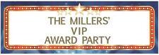 HOLLYWOOD PARTY Awards VIP tema personalizzato gigantesco stendardo Decorazione Murale
