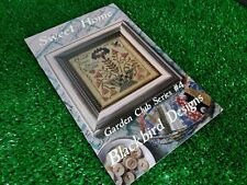 Garden Club Series 4: Sweet Home Blackbird Designs Cross Stitch Pattern