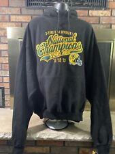 NWT North Dakota State Bison NCAA Hooded Sweatshirt NDSU Mens XXXXXL Champions