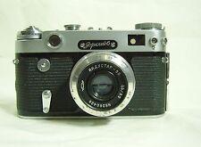 ZORKI-6 Rangefinder Camera With Industar 50mm f/3.5 Lens