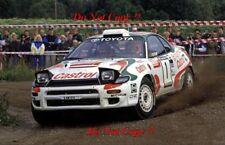 Didier Auriol Toyota Celica Turbo 4WD 1000 Lakes Rally 1993 Photograph 1