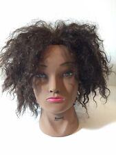 Human Hair Mannequin Hairdresser Head Cosmetology BURMAX Naomi