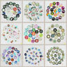 50PCS Handmade Round Glass Photo Dome Cabochon Flatback Jewelry Beads 12/20/25MM