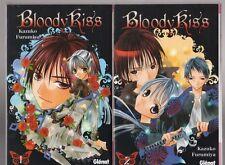 BLOODY KISS tomes 1 et 2 Furumiya MANGA shojo SERIE COMPLETE en français