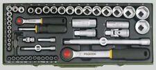 """Proxxon- Steckschlüsselsatz 1/4 + 1/2 """"  56 tlg.  -  23040 -"""