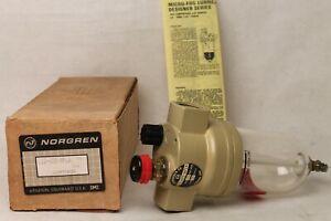 "NORGREN L12-600-MPLA 3/4"" Air Line Lubricator Oiler"