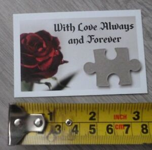 FOR THE ONE I LOVE*YOU ARE MY MISSING JIGSAW PIECE*ROMANTIC NOVELTY GIFT*ROMANCE