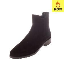 RRP €595 STUART WEITZMAN Leather Chelsea Boots Size 39.5 UK 6.5 US 9 Pull On