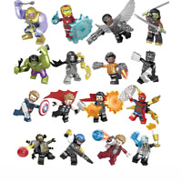 SY1060 Bausteine 16PCS Super Hero Captain America Thanos Hulk Ant-Man Spielzeug