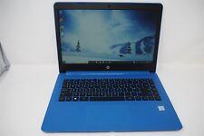 HP NOTEBOOK 14-BP073NA CORE I3 7TH GEN 7100U 2.4GHz 4GB RAM 128GB SSD IN BLUE