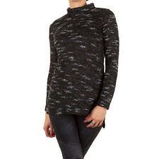 Damen-Pullover & -Strickware aus Baumwolle mit Stehkragen in Größe 40