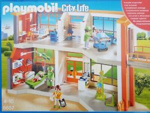 PLAYMOBIL 6657 Kinderklinik mit Einrichtung 291-teilig