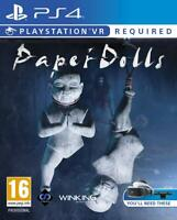 Paper Dolls (VR Required) Playstation 4 PS4 **FREE UK POSTAGE!!**