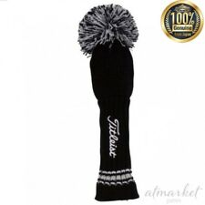 TITLEIST knit for utility head cover AJHC3H Black White japan F/S H