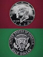 40% SILVER 1970 S Proof John Kennedy Half Dollar Mirror Like Flat Rate Shipping