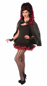 Fantasy Cape Adults Halloween Black Fancy Dress Cape Costume Accessory New Mens
