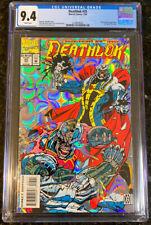 Deathlok #25 CGC 9.4 Silver Cover New Frame  Black Panther Marvel Comic