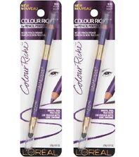Lot of 2, Loreal Colour Riche Wood Pencil Eyeliner, 930 Violet!