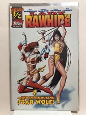 LADY RAWHIDE #1/2 (WIZARD Exclusive with COA) (1996, Topps Comics) NM-MT UNREAD!
