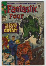 Fantastic Four #58 Silver Age Marvel Comic Book Dr Doom 6.0 FN Silver Surfer