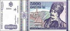Rumänien / Romania 5000 Lei 1993 Pick 104 (1)