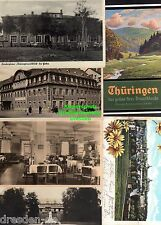 118312 6 AK Gotha Thüringen 1903 Boxberghaus Thüringerwaldblick 1939 Gaststätte