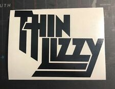 Thin Lizzy Vinyl Decal Sticker T001S Black Or White Ac/Dc Rose Tattoo