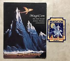 MAGICON / THE 50TH WORLD SCIENCE FICTION CONVENTION 1992 BOOK & EVENT PATCH