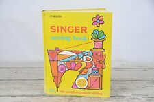 Vintage Singer Sewing Book Golden Press 1970's 2nd edition