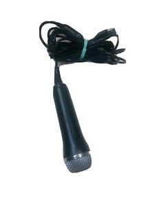 RockBand USB Wired Mic E-UR20 Logitech Great Condition -Xbox 360 Wii- PS2