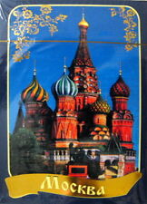 Russian 54 Playing Cards Deck The Best Views of Moscow Sealed Blue Pack