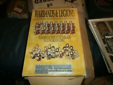 WARBANDS & LEGIONS TABLE TOP GAME OF ANCIENT WARFARE ROMANS & GAULS KICKSTATER