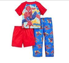 The Amazing Spiderman 2 Toddler Boys  3Pc Pajama Set  Size 2T