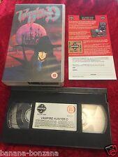 VHS Film : Manga / Jap VAMPIRE HUNTER D