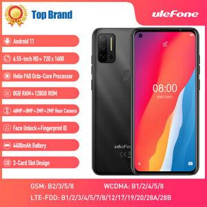 Ulefone NOTE 11P 128GB Android 11 Smartphone Unlocked OctaCore Dual SIM 4400mAh