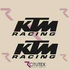 X2 KTM RACING  PEGATINA STICKERS DECAL MOTO DECALCOMANIA CROSS ENDURO