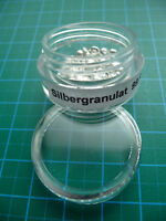 8g Silbergranulat + Schraubdose SILBER Metall Element pure silver nuggets sample