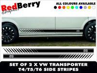 VW T5 T4 TRANSPORTER CAMPER MOTORHOME STRIPES VAN SURF VINYL DECALS GRAPHICS 30