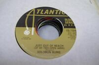 Blues Nm! 45 Solomon Burke - Just O Of Reach (Of My Two Open Arms) / Release Me