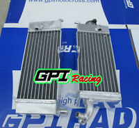 Fit YAMAHA YZ250 1992; WR250 1990-1993 Aluminum Alloy Radiator R/&L Both Sides